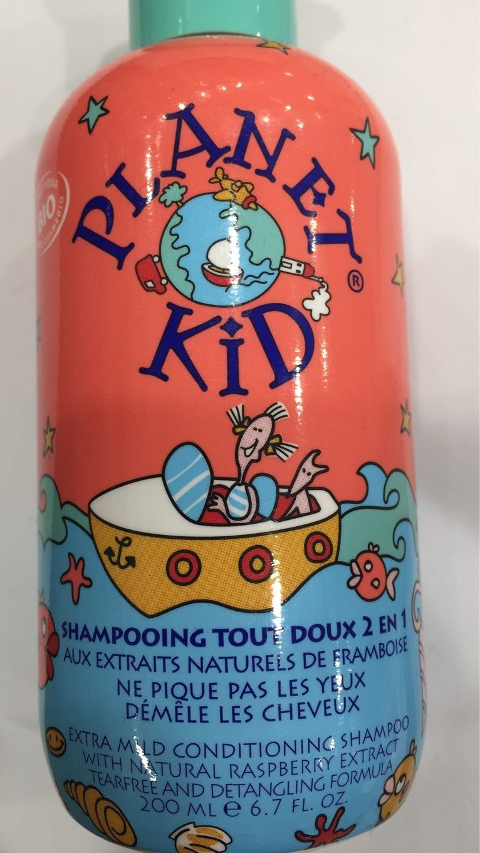 Planet Kid - Shampoing Framboise Démêlage Bio - Product - fr