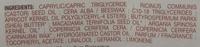 Baume à lèvres à l'huile d'argan anti-âge - Ingredients