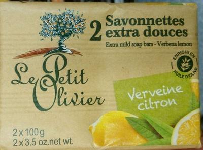 Savonnettes extra douces Verveine Citron - Product