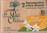 Savonnettes extra douces Fleur d'oranger - Produit