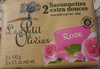 Savonnettes Extra douce Rose - Product