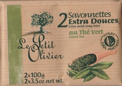 Savonnettes extra douces au Thé vert - Produit - fr