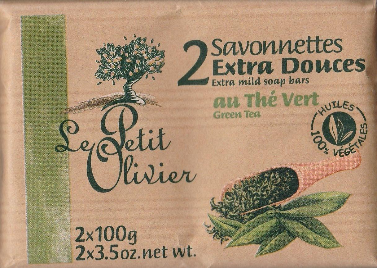 Savonnettes extra douces au Thé vert - Produit
