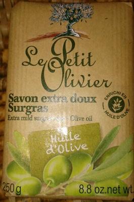 Savon Extra doux Surgras Huile d'Olive - Produit