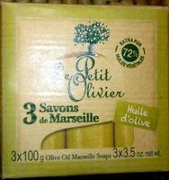 Savons de Marseille Huile d'Olive - Produit - fr