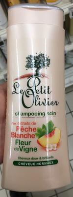 Shampooing soin aux extraits de Pêche Blanche Fleur de Vigne - Product - fr