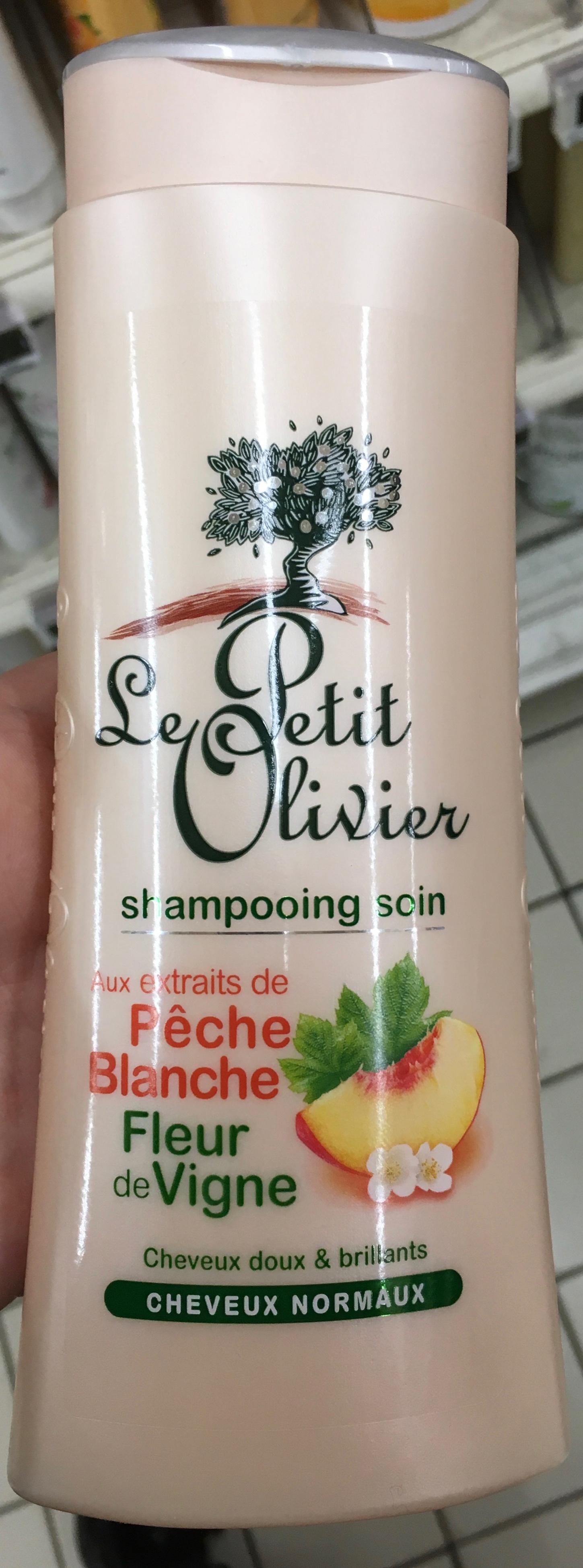 Shampooing soin aux extraits de Pêche Blanche Fleur de Vigne - Produit