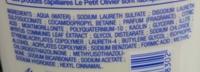 Shampooing soin à l'extrait de Myrte Argile Rose - Ingredients - fr