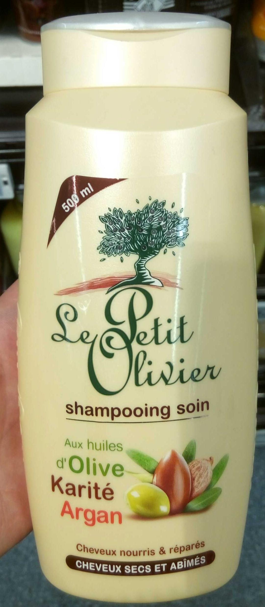 Shampooing soin aux huiles d'Olive Karité Argan - Product