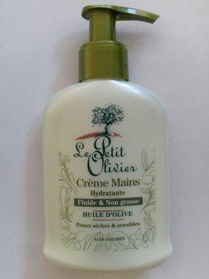 Crème mains Hydratante l'huile d'olive  Fluide & non grasse - Product