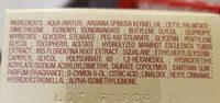 Crème jour & nuit anti-âge - huile d'argan - Ingredients - fr