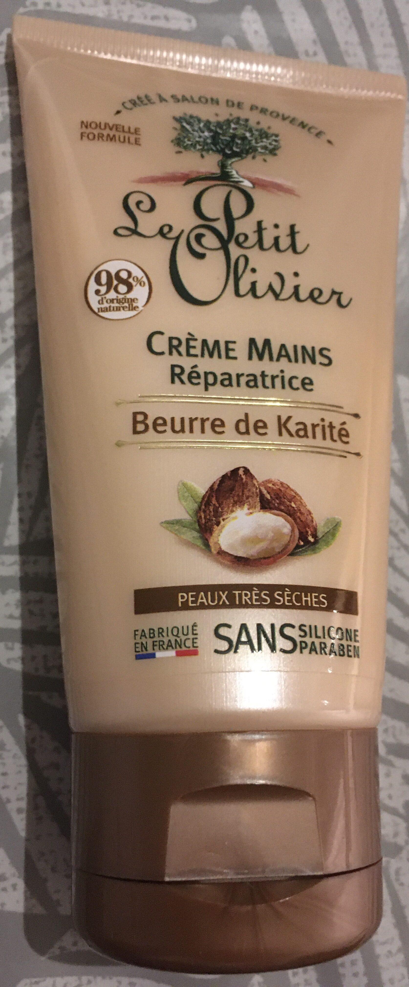 Crème mains réparatrice beurre de karité - Product - fr