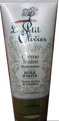 Crème mains hydratante Huile d'olive - Produit