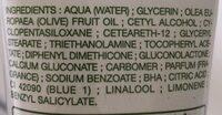 Crème corps ultra nourrissante, Peaux sèches & sensibles - Ingrédients - fr
