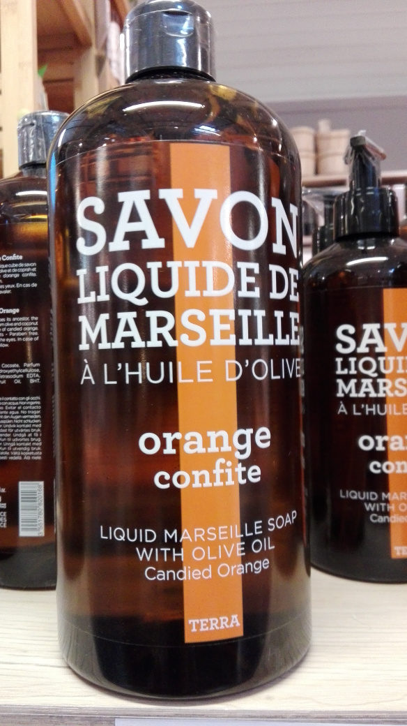 savon de marseille liquide a l'orange confite - Produit - fr