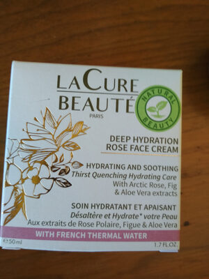 deep hydration rose face cream - Product - lt