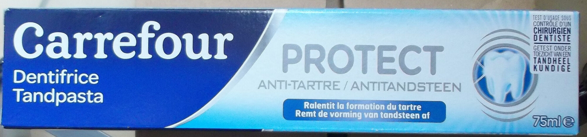 dentifrice anti-tartre - Product - fr