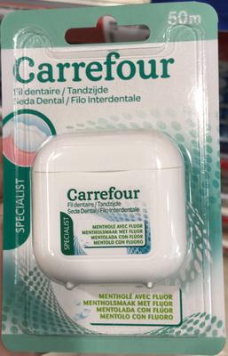 Fil dentaire Specialist mentholé avec fluor - Product