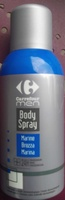 Body Spray Marine - Produit - fr
