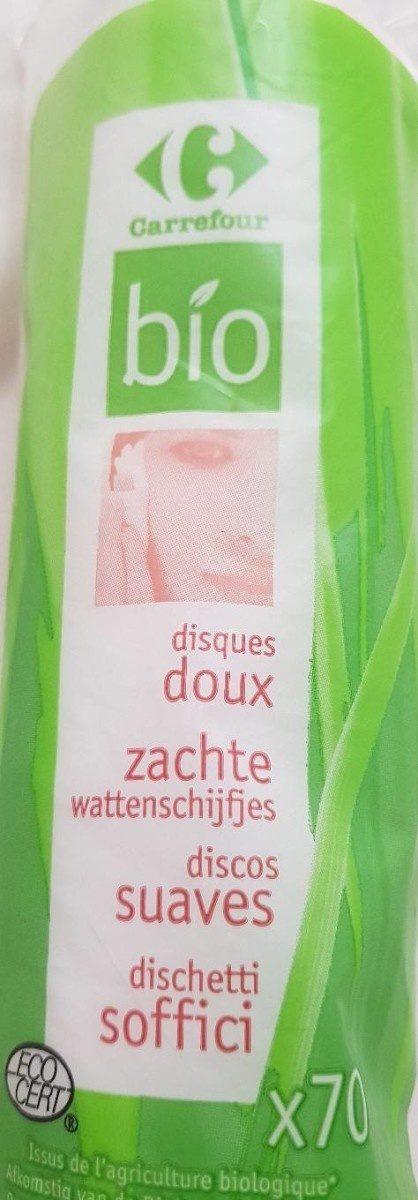 Carrefour Bio Disques Doux X70 - Produit - fr