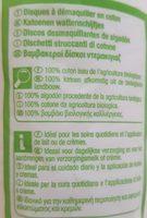 Carrefour Bio Disques Doux X70 - Ingrédients - fr