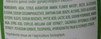 Gel intime bio - Ingredients