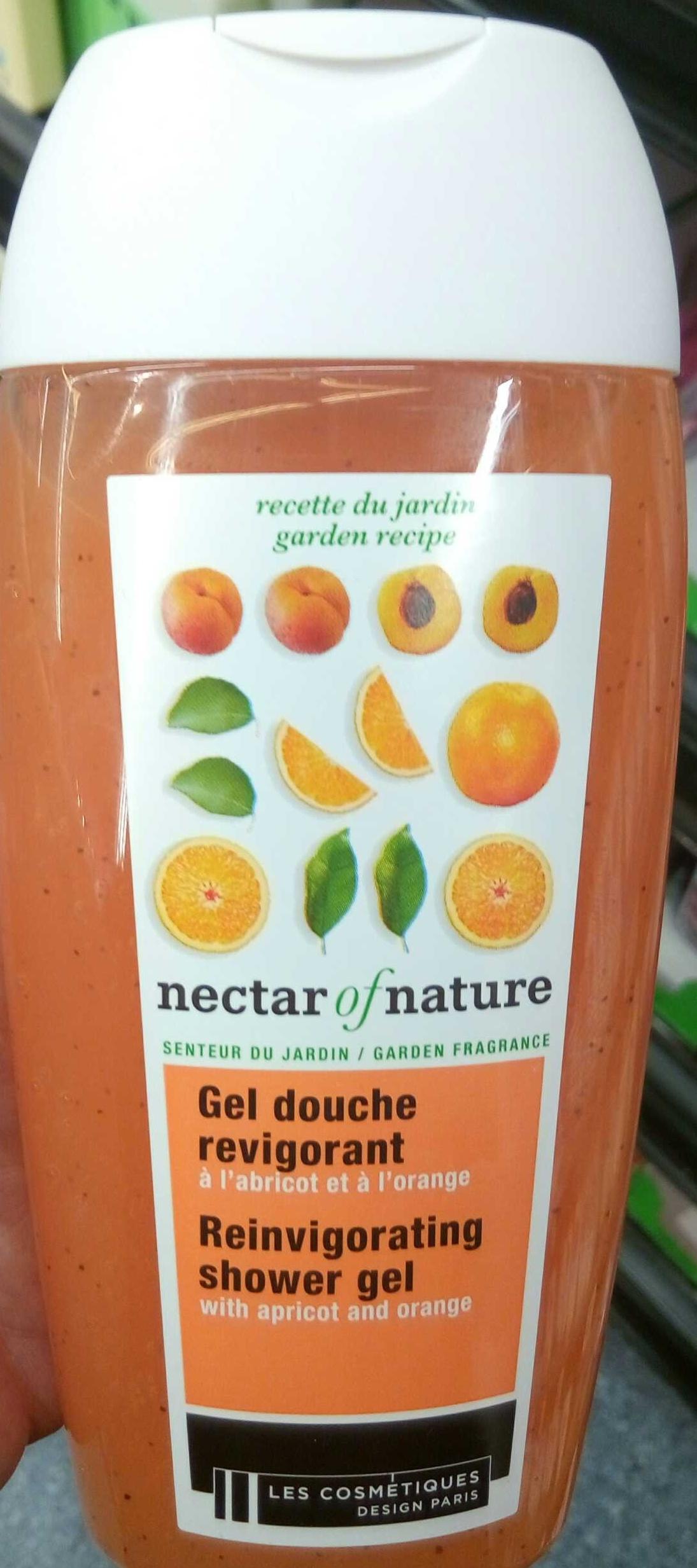 Gel douche revigorant à l'abricot et à l'orange - Product - fr