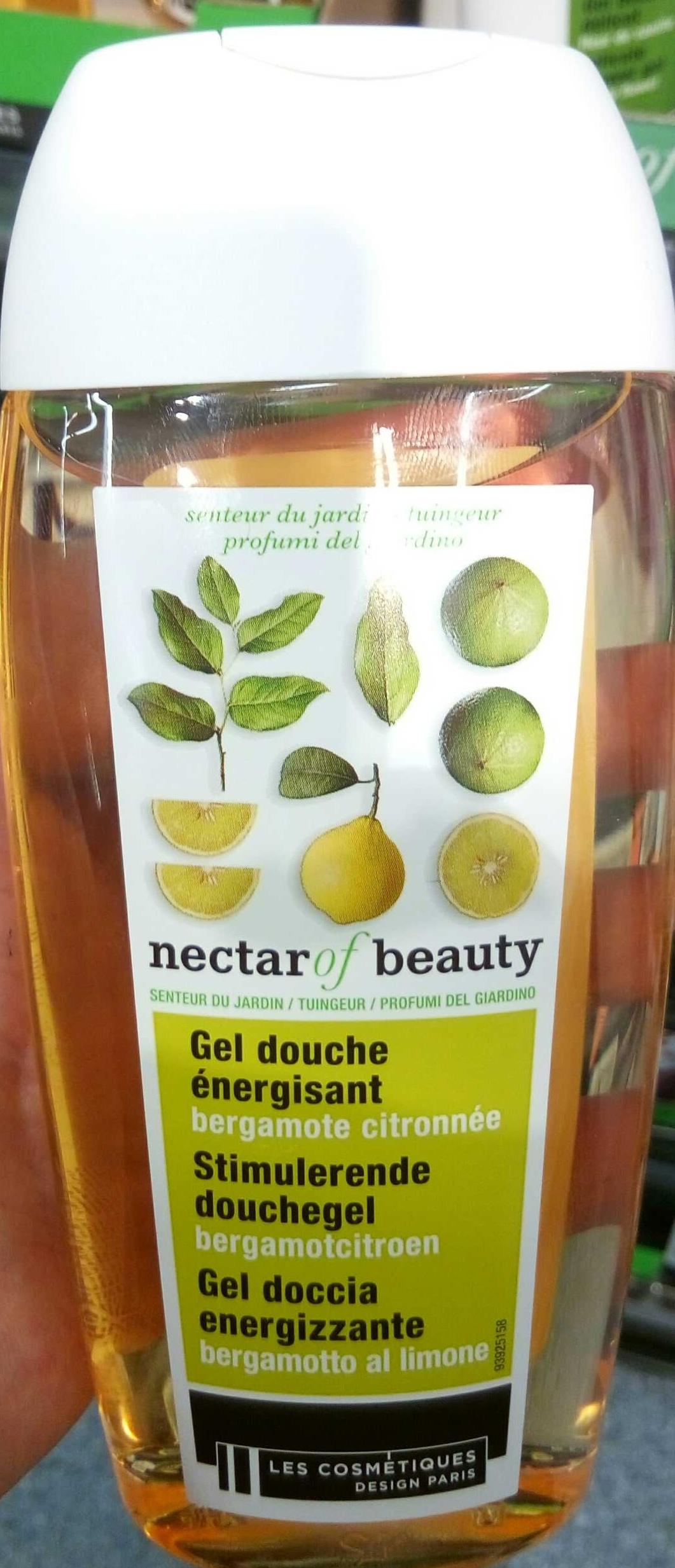 Gel douche énergisant bergamote citronnée - Produit - fr