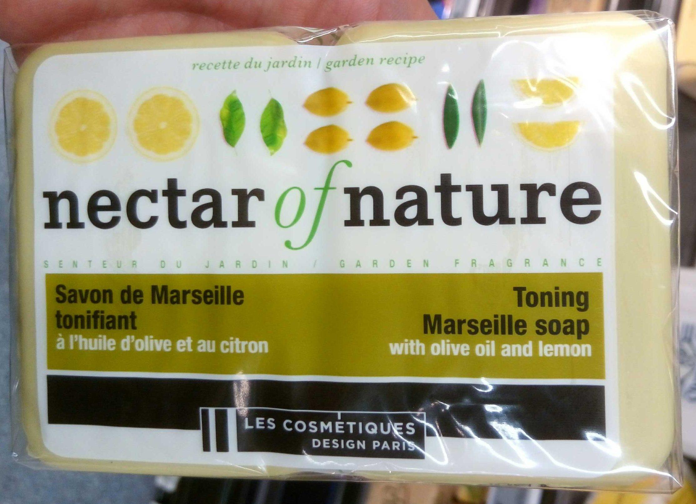 Savon de Marseille tonifiant, à l'huile d'olive et au citron - Product - fr