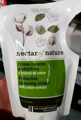 Crème lavante protectrice à l'extrait de coton toutes mains - Produit