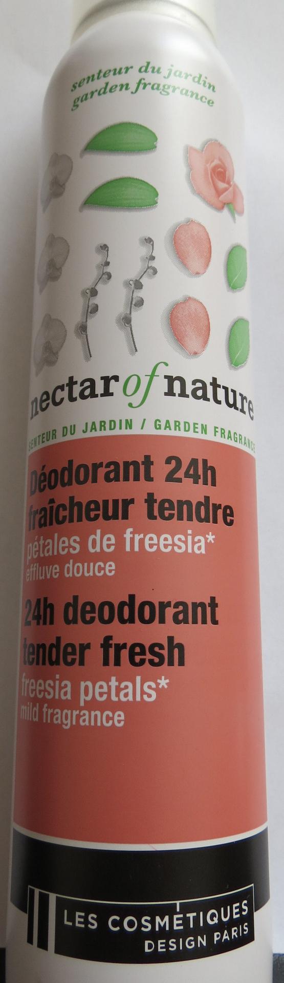 Déodorant 24h fraicheur tendre pétales de freesia effluve douce - Product