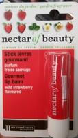 Stick lèvres gourmand parfum fraise sauvage - Product