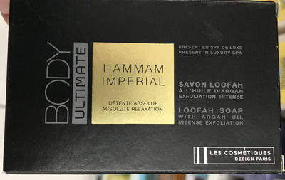 Body Ultimate Hammam Impérial Savon Loofah à l'huile d'Argan - Product
