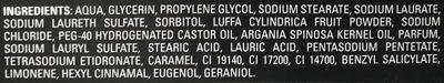 Body Ultimate Hammam Impérial Savon Loofah à l'huile d'Argan - Ingredients