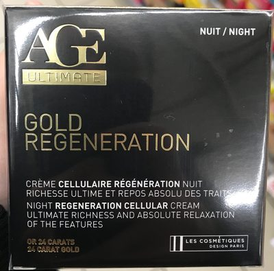 Age Ultimate Gold Regeneration Nuit - Product