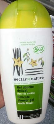 Gel douche délicat fleur de vanille - Produit