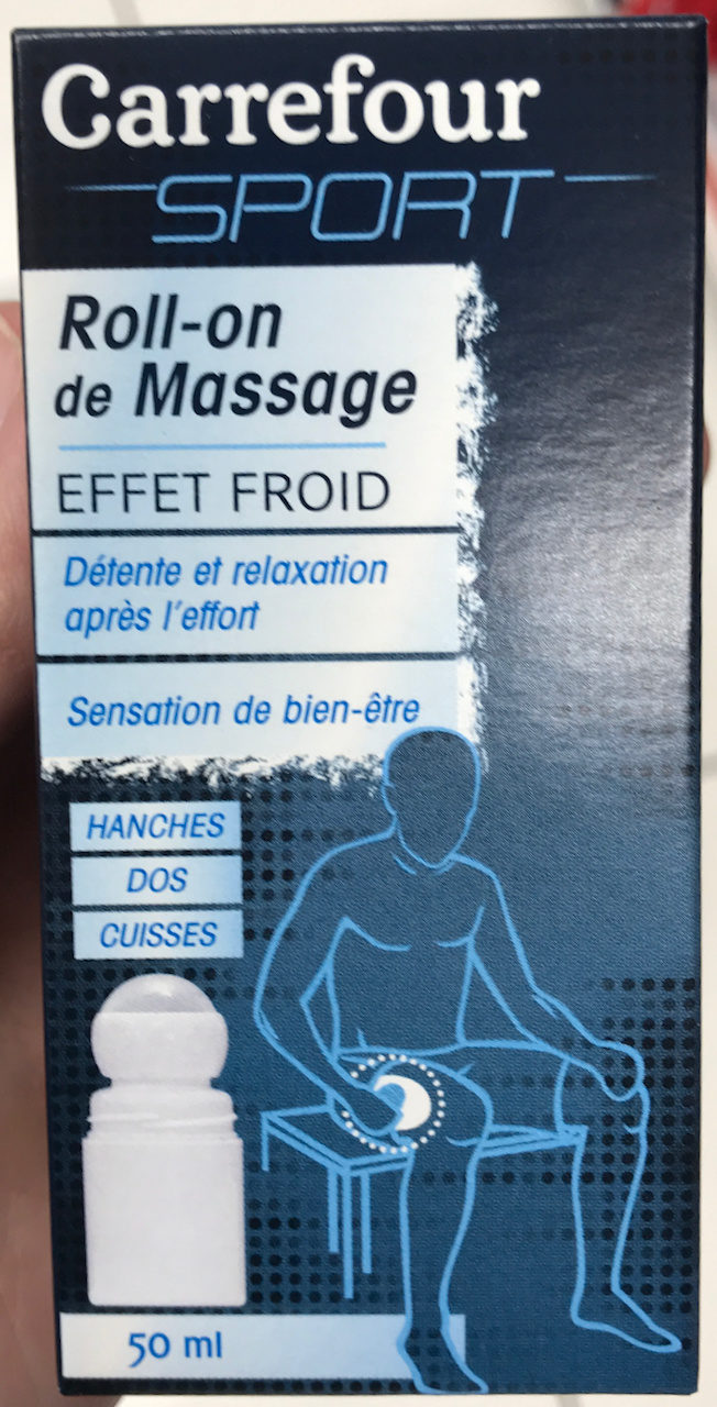 Roll-on de massage effet froid Hanches Dos Cuisses - Product