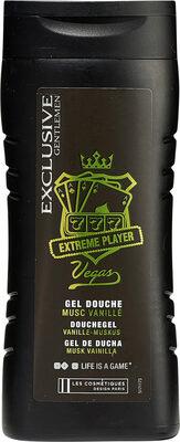 Exclusive Gentlemen Extreme Player Vegas Gel douche musc vanillé - Produit - fr