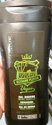 Exclusive Gentlemen Extreme Player Vegas Gel douche musc vanillé - Produit