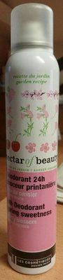 Deodorant 24H Douceur printanière Cerisier - Product