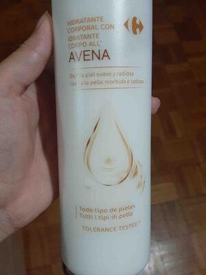 hidratante corporal con avena - Product - en