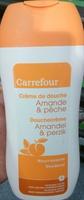 Crème de douche Amande & pêche nourrissante - Product - fr
