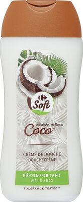 Crème de douche Lait de coco hydratante - Produit - fr