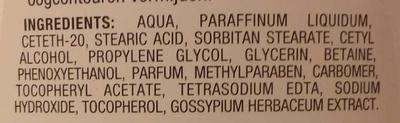 Lait démaquillant douceur - Ingredients - fr