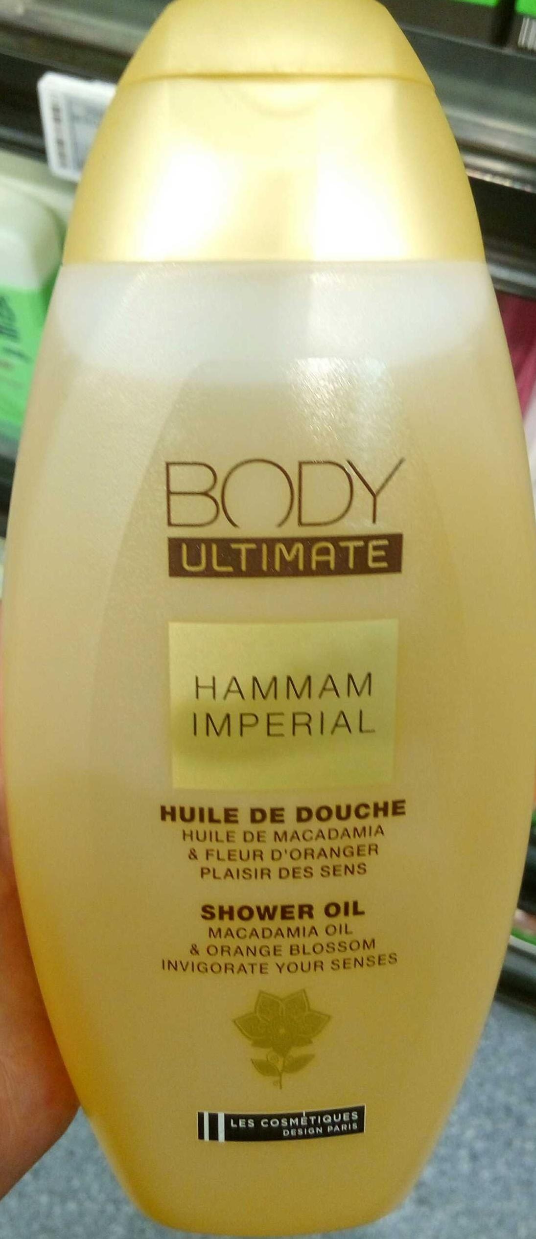 Hammam Impérial Huile de douche - Produit