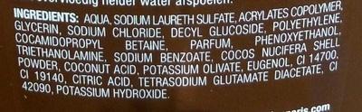 Hammam Impérial Douche au savon noir gommage oriental - Ingredients