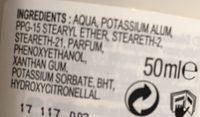 Ocean Deo roll-on 24H - Ingredients - fr