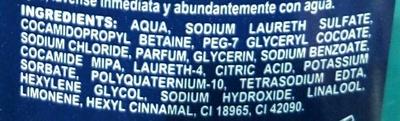 Gel Douche Fraîcheur - Ingredients - fr