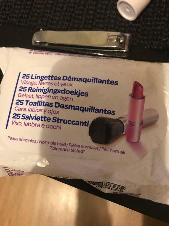 Lingettes démaquillantes - Produit - fr