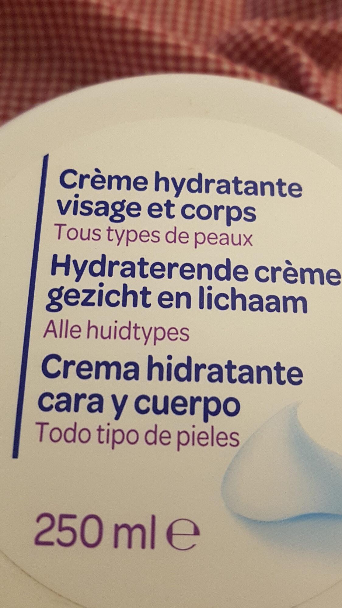 Crème hydradante visage et corps - Product - fr